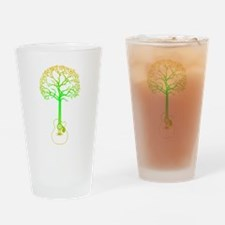 Cute Tree hugger Drinking Glass