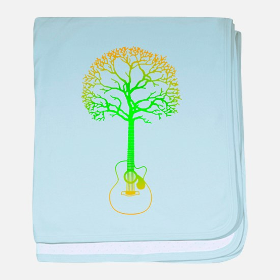 Cute Tree hugger baby blanket