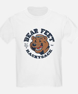 Bear Feet Hackysack T-Shirt