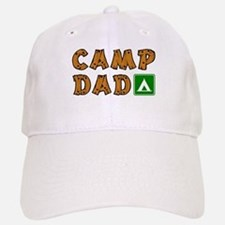 Camp Dad Baseball Baseball Cap