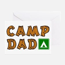 Camp Dad Greeting Cards (Pk of 10)