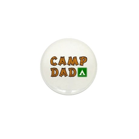 Camp Dad Mini Button (10 pack)