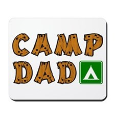 Camp Dad Mousepad