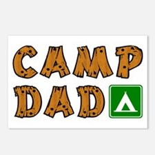 Camp Dad Postcards (Package of 8)