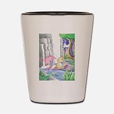 Water Garden - Mermaid Cat Shot Glass