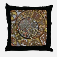 Celtic Steampunk Throw Pillow