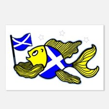 Scottish Fish Clear Postcards (Package of 8)