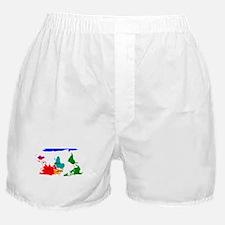 Cute Map Boxer Shorts