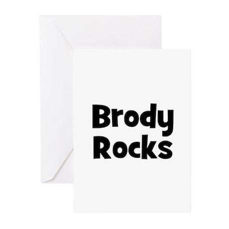 Brody Rocks Greeting Cards (Pk of 10)