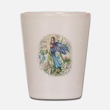 Blue Bell Fairy Shot Glass