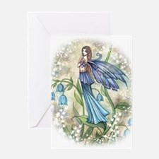 Blue Bell Fairy Greeting Card
