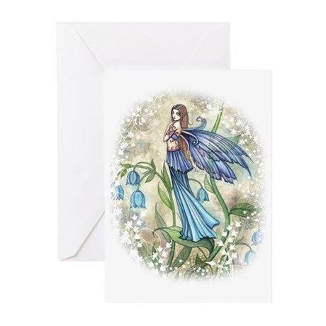 Blue Bell Fairy Greeting Cards (Pk of 10)