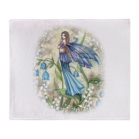 Blue Bell Fairy Throw Blanket