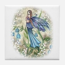 Blue Bell Fairy Tile Coaster