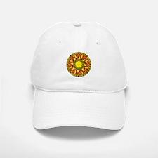 Sun Mandala Baseball Baseball Cap