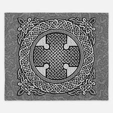 Celtic Cross King Duvet Cover
