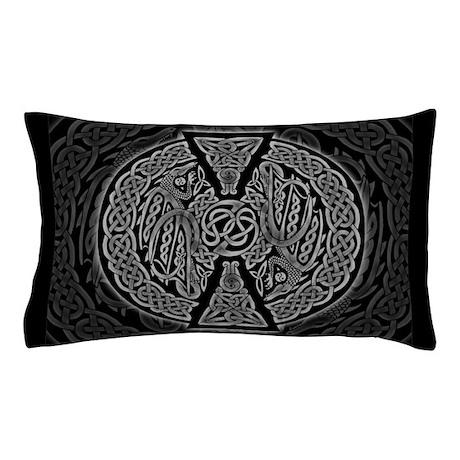 Celtic Dragons Pillow Case