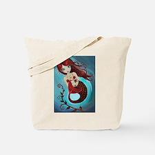 Ruby Mermaid Tote Bag