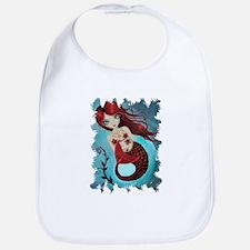 Ruby Mermaid Bib