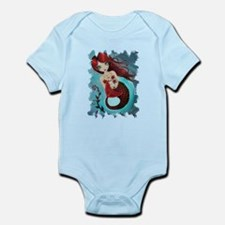 Ruby Mermaid Infant Bodysuit