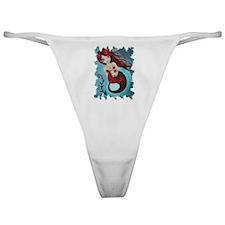 Ruby Mermaid Classic Thong