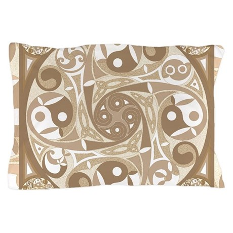 Celtic Stepping Stone Pillow Case