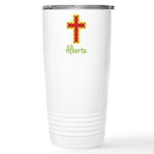 Alberta Bubble Cross Travel Mug