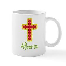 Alberta Bubble Cross Small Mugs