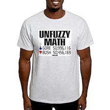 UNFUZZY MATH Ash Grey T-Shirt