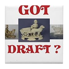 Got Draft? Tile Coaster