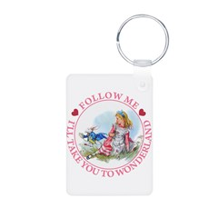 Follow Me To Wonderland Keychains