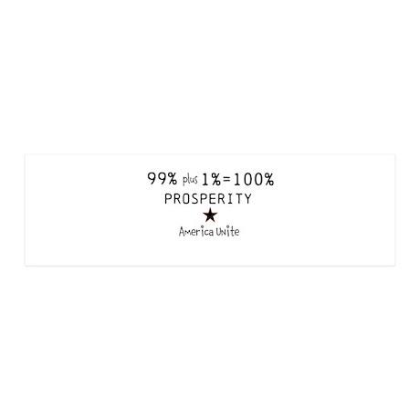 100% Prosperity 42x14 Wall Peel
