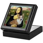 Mona - Corgi (Pembr-L) Keepsake Box