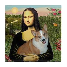 Mona - Corgi (Pembr-L) Tile Coaster