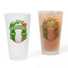Collins Shield Drinking Glass