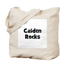 Caiden Rocks Tote Bag