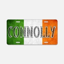 Connolly Shield Aluminum License Plate