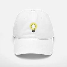 Bright Bulb Baseball Baseball Cap