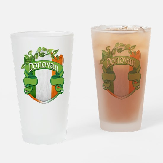 Donovan Shield Drinking Glass