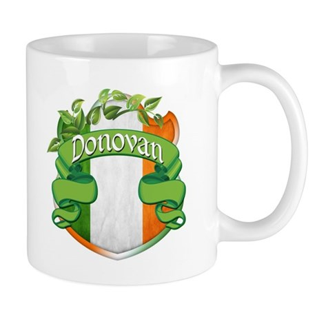 Donovan Shield Mug