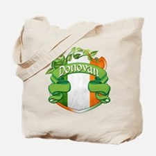 Donovan Shield Tote Bag
