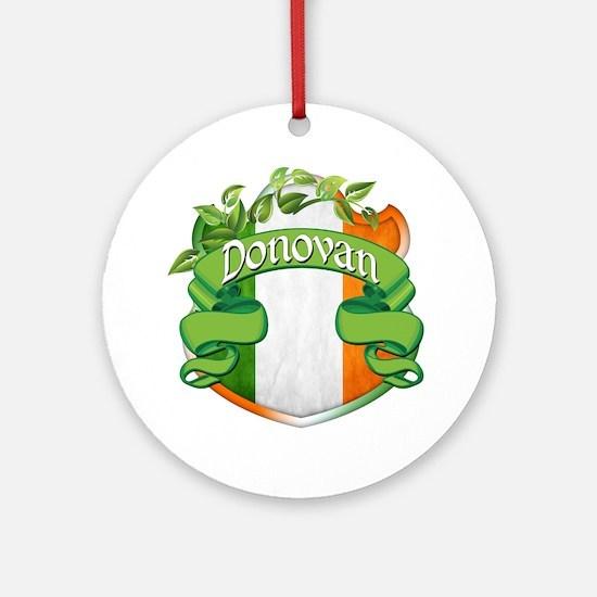 Donovan Shield Ornament (Round)