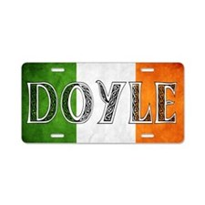 Doyle Shield Aluminum License Plate