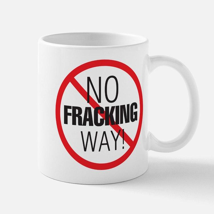Cute No fracking Mug