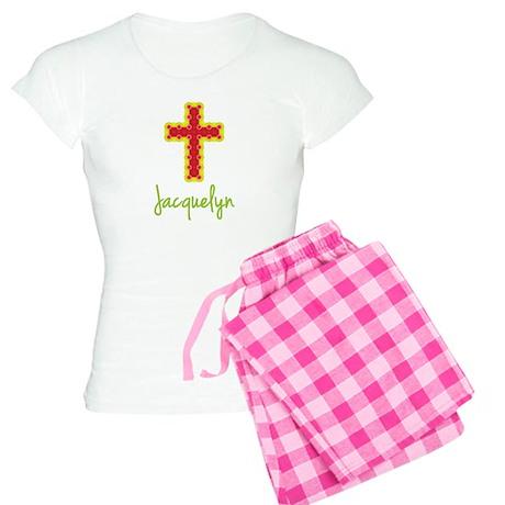 Jacquelyn Bubble Cross Women's Light Pajamas
