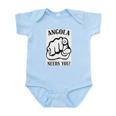 Angola Needs You Infant Creeper