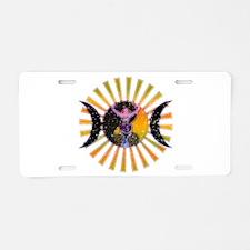 Goddess Aluminum License Plate