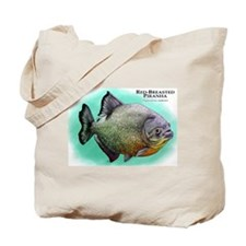 Red-Breasted Piranha Tote Bag