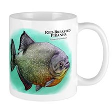 Red-Breasted Piranha Mug