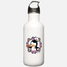 Pretty Penguin (4) Water Bottle